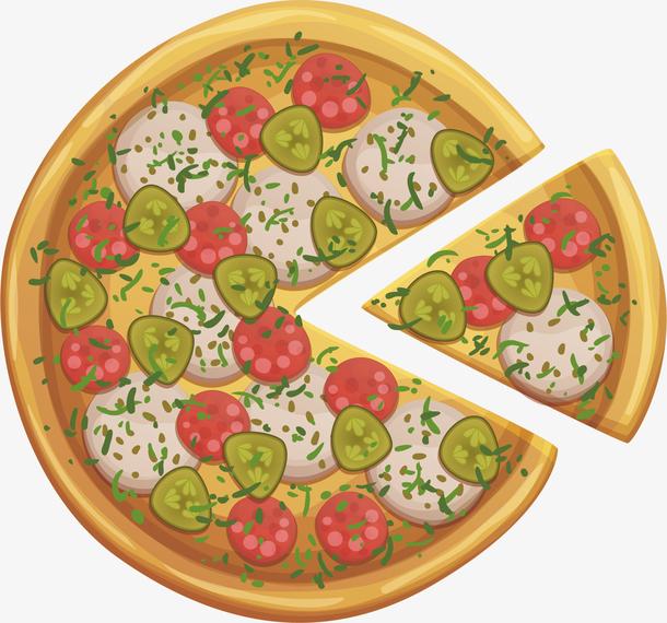 西餐意式美食披萨