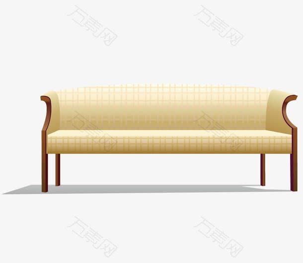 手绘卡通客厅沙发