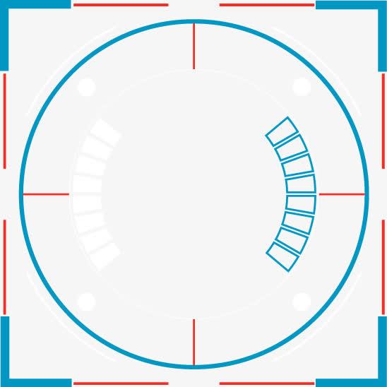 电子科技圆环