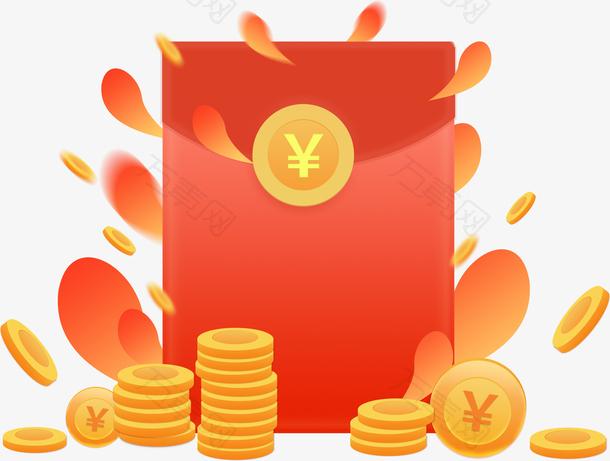 新年促销活动金币红包