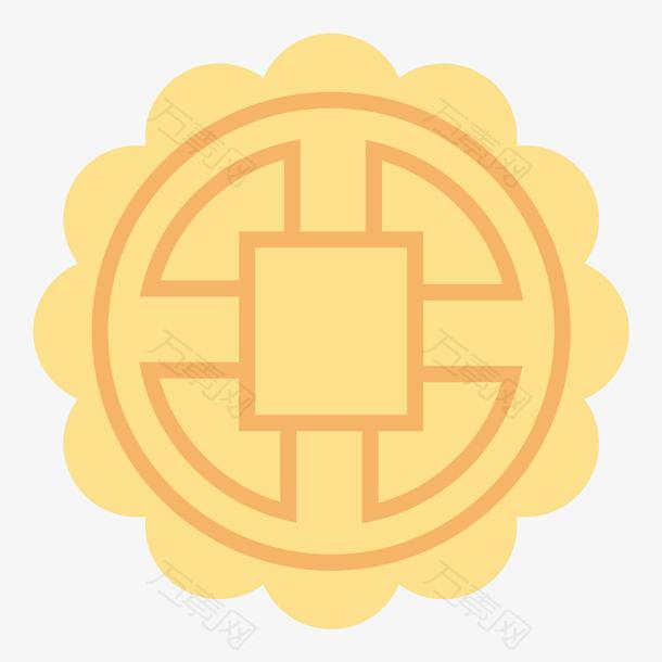 月饼创意中国风中秋灯笼节日元素设计