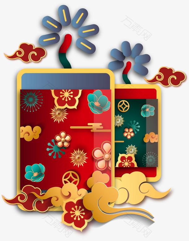 中国风国潮装饰元素