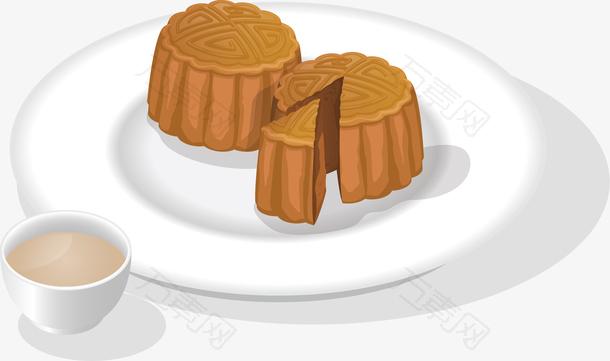 美味中秋节的月饼