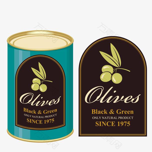 橄榄包装设计图