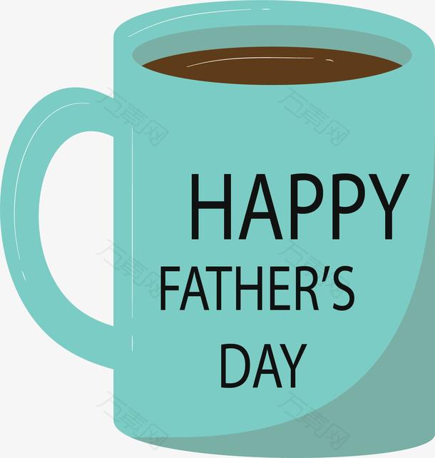 绿色咖啡杯父亲节