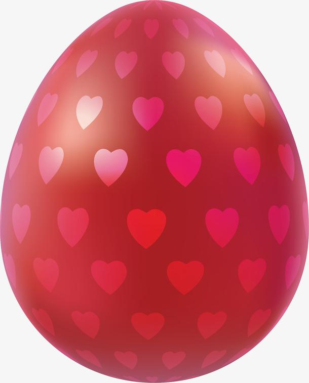 精美红色爱心彩蛋