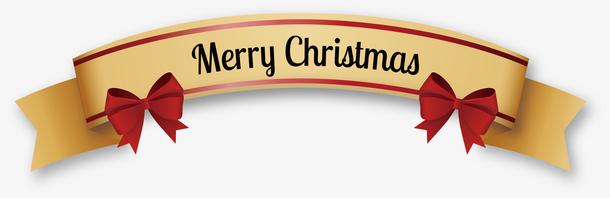 金色圣诞彩带
