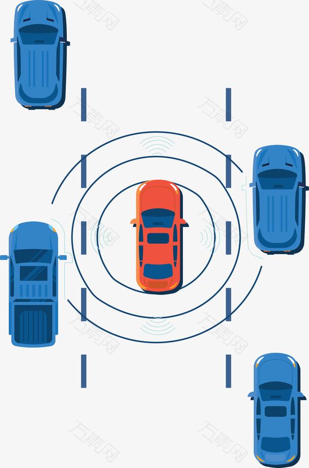 科技感智能化汽车