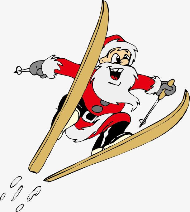 卡通圣诞老人矢量文件