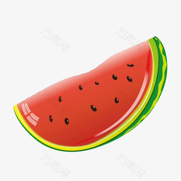 卡通水果西瓜