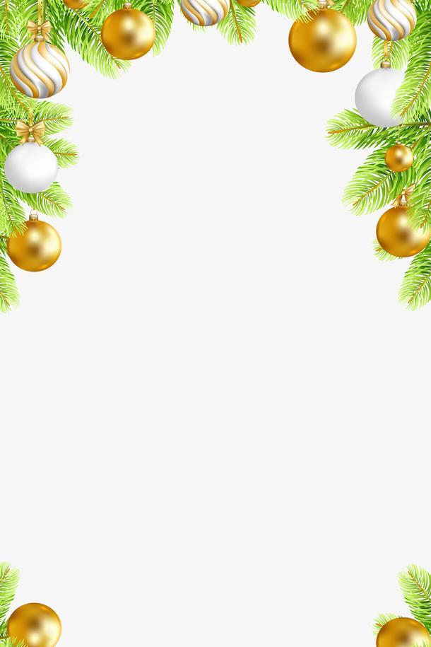 高清金色圣诞背景