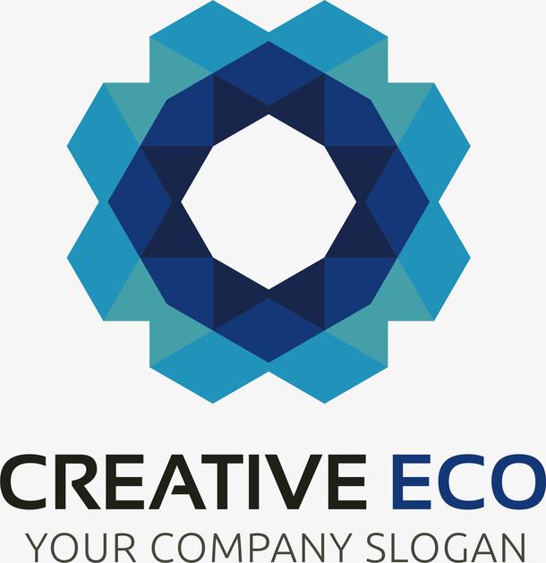 立体的创意新能源logo