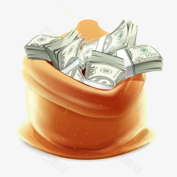 金融一袋钱理财图