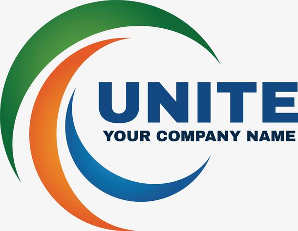 圆形的创意新能源logo