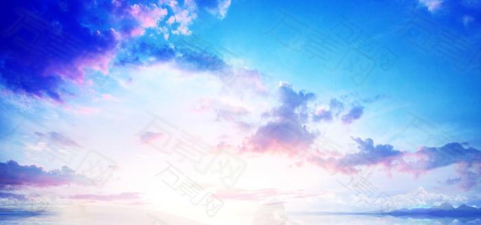 绚丽天空背景