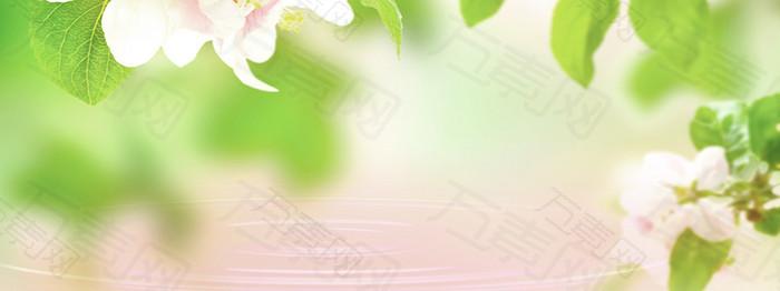 春季清新背景海报