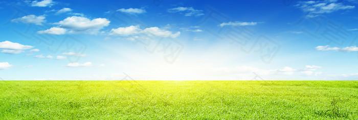 大气草原背景
