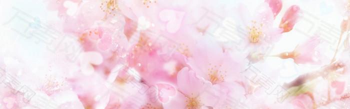 花卉梦幻浪漫爱情清新
