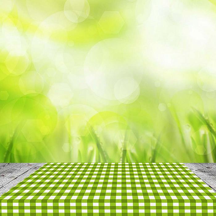 黄绿色虚幻背景格子背景