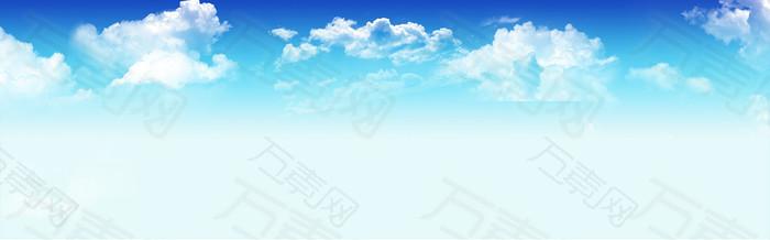 清新浅色系列banner背景
