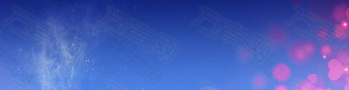 蓝色banner图片