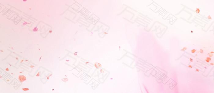 粉色扁平背景