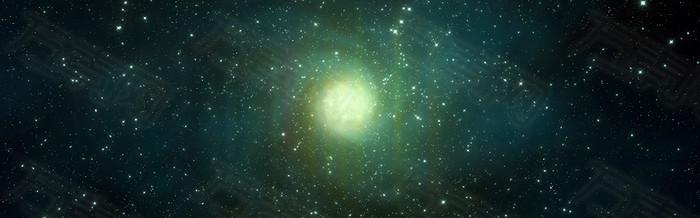 星空科幻背景