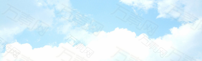 手绘天空背景