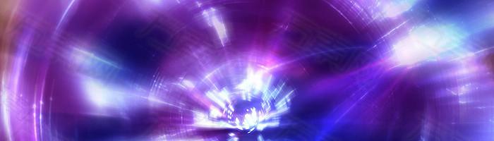 梦幻光线科技大气背景