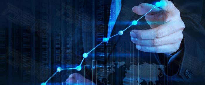 电子商务数码科技触屏背景