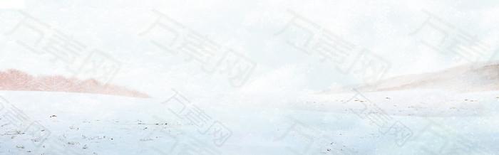 冬季 banner背景图