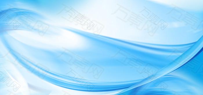 蓝色背景板
