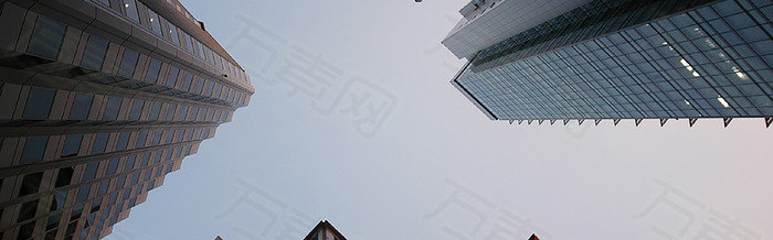 高楼 办公 楼房banner背景
