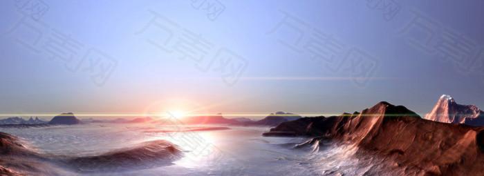 风景海洋背景