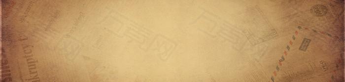 咖啡欧式唯美背景banner