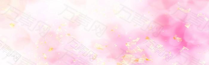 梦幻浪漫粉色背景