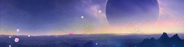梦幻背景banner