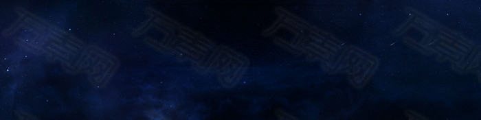 蓝色 星空背景