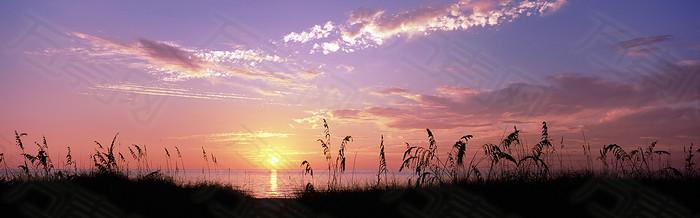 夜空温馨背景图片