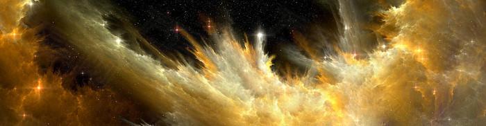 宇宙陆地星光山脉天空
