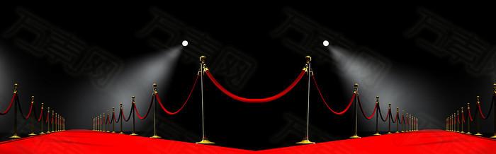 黑色舞台背景