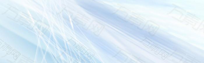 蓝色浅色banner背景