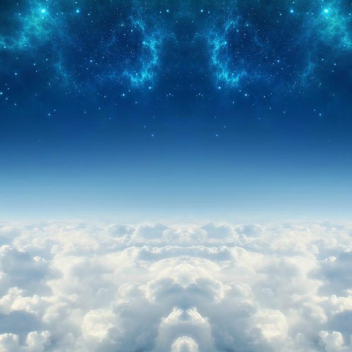 梦幻星空促销推广图主图背景图