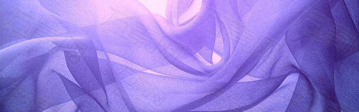 紫色丝带背景