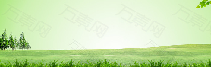 清新绿色环保背景