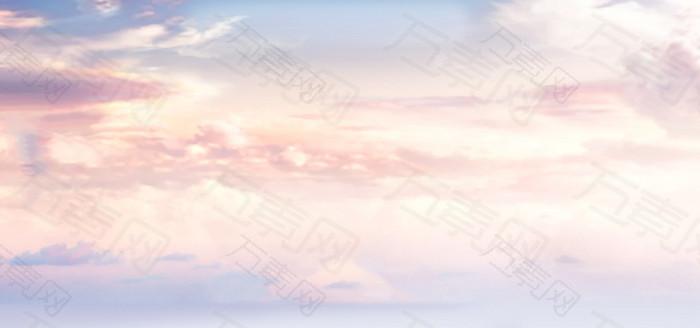 文艺天空背景