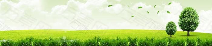 绿色健康环保背景