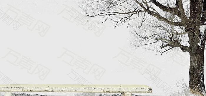 文艺范背景海报