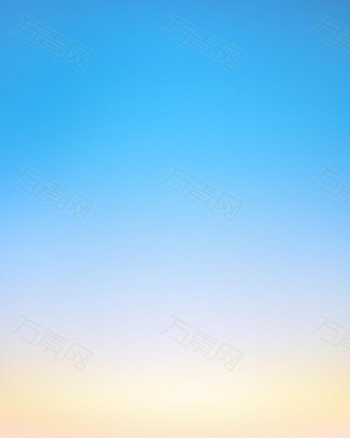 蓝色暖色设计背景图