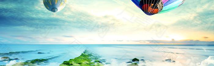 唯美风景banner